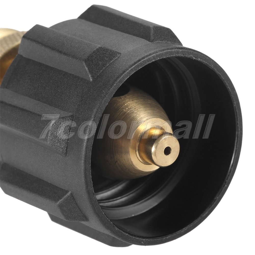 """Details about  /Propane Cylinder Adaptor Convert to 1/""""-20UNEF Throwaway Hose Line Adapter"""